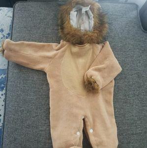 Infants Lion costume